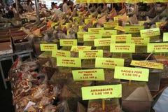 Специи на уличном рынке Стоковое Фото