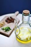 специи оливки масла стоковые фото
