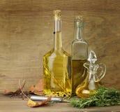 специи пищевого масла стоковое фото rf