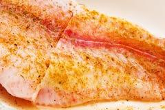 специи рыб выкружки вниз Стоковая Фотография