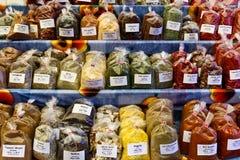 специи рынка трав Стоковые Изображения RF