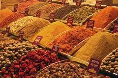 Специи рынка Стоковая Фотография