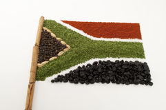 специя африканского флага южная Стоковое Изображение RF