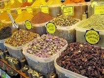 специя рынка istanbul Стоковое Фото