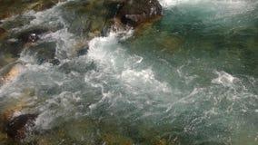Спеша падение banff ледника Стоковые Изображения
