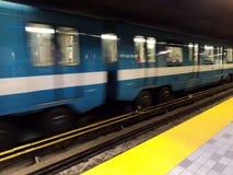 Спешенное метро стоковая фотография