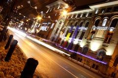 спешка вечернего часа Стоковое фото RF