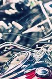 спидометр классики bike стоковые изображения