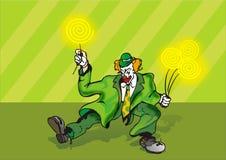 спирали клоуна Стоковое фото RF
