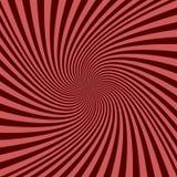 Спиральная предпосылка луча - дизайн векторной графики от завихряться излучает Стоковое Фото