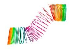спиральная спиральн игрушка Стоковое Изображение RF