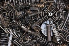 спиральные пружины Стоковые Изображения RF