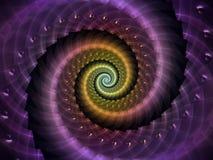 Спиральный вортекс Стоковые Фото