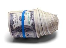 Спиральный крен денег Стоковое Изображение RF