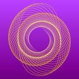 Спиральный логотип для вашей студии дизайна Стоковое Фото