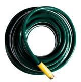 спиральный шланг зеленого цвета сада Стоковая Фотография RF