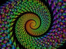 Спиральн абстракция Стоковое Изображение RF