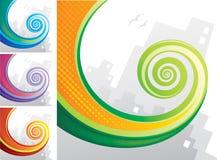 спиральн кабель Стоковая Фотография RF