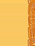 спиральн квадратные канцелярские принадлежности Стоковые Фото