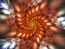 Спиральн сеть Стоковое Изображение