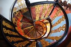 спиральн stairway стоковые фотографии rf