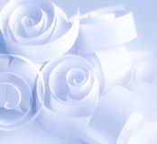 спираль бумаг стоковое изображение