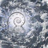 Спираль времени Стоковое Фото