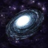 спираль галактики Стоковое Фото