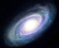 спираль галактики Стоковые Изображения