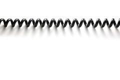 спираль кабеля Стоковое Фото
