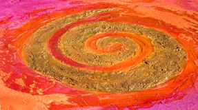 спираль картины Стоковое фото RF