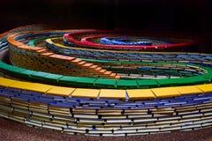Спираль книг стоковые изображения rf