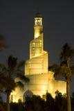 спираль мечети doha Стоковое фото RF