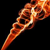 спираль пламени Стоковые Изображения