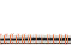 спираль позвоночника тетради Стоковое Изображение RF