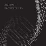 Спираль предпосылки конспекта черная белая поставленная точки бесплатная иллюстрация