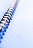 спираль примечания книги Стоковое фото RF
