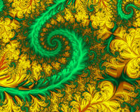 спираль сада Стоковые Фото
