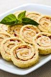 спираль сандвича крена закусок миниая Стоковое Изображение RF
