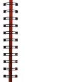 спираль тетради стоковая фотография