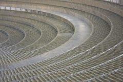 спираль фонтана Стоковые Фото