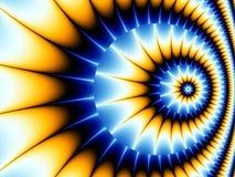 спираль фрактали Стоковое фото RF