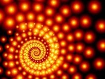 спираль фрактали Стоковая Фотография RF