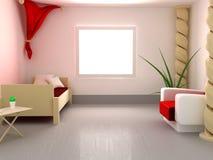 спираль штендера спальни Стоковое Изображение