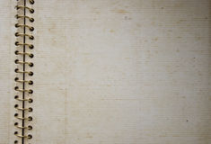 спираль bind альбома старая Стоковое Фото