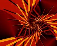спираль halloween Стоковое Фото