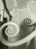 спираль railing Стоковая Фотография