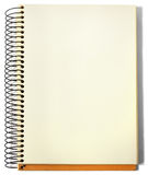 спираль sketchbook Стоковые Фото