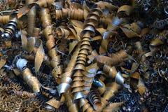 Спирали металла стоковые фотографии rf