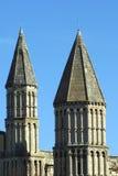 Спирали собора Rochester, Англия Стоковые Изображения